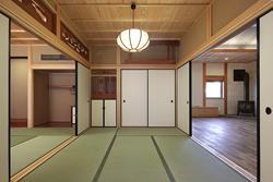 越谷の家の部屋 続きの間・仏壇