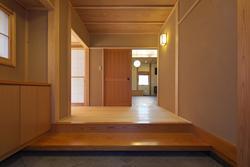 越谷の家 (玄関)