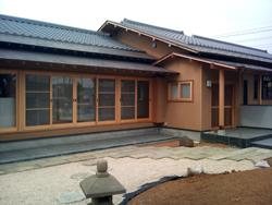越谷の家 (外観 南西面)