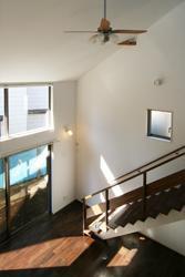 習志野の家の写真 吹抜け空間の見下ろし