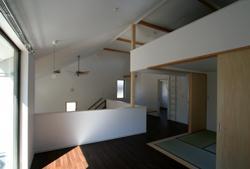 習志野の家の部屋 2階フリースペース