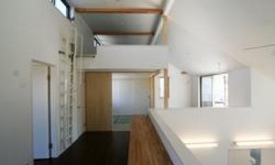 習志野の家 (2階スタディスペース)