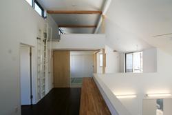 習志野の家の部屋 2階スタディスペース