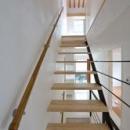 西落合の家の写真 階段から見上げ