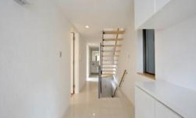 階段ホール|西落合の家