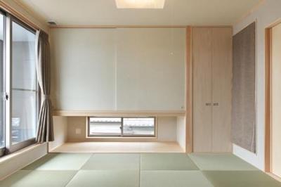 松阪市のY邸 (縁無し畳を敷き詰めた和室)