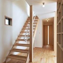 松阪市のY邸 (廊下・オープン型階段)