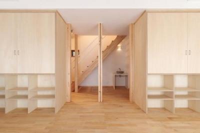 松阪市のY邸 (多収納のある広々とした空間)