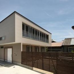 松阪市のY邸 (ゲートとカーポート付き住宅)