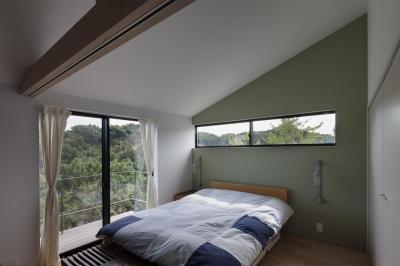 寝室 (辻堂のいえ)
