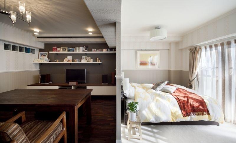 No.56 30代/2人暮らしの部屋 リビング/寝室
