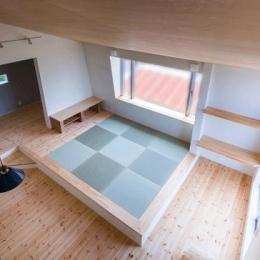2階の畳のリビング (デまど~ココからの景色~)