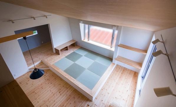 デまど~ココからの景色~の部屋 2階の畳のリビング