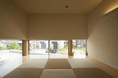 U-HOUSE (琉球畳を敷き詰めた和室)