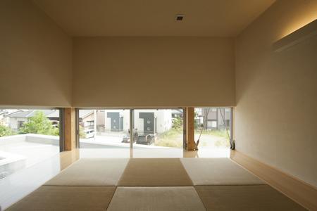 U-HOUSEの部屋 琉球畳を敷き詰めた和室