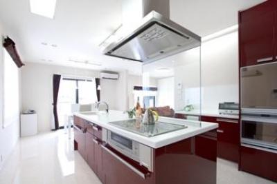 贅沢な空間に生まれ変わった我が家♪ (細かいものから全て収納できるキッチン)
