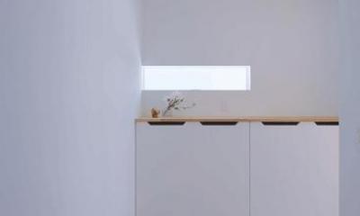 n・D~コートハウス~ (シンプルな玄関)