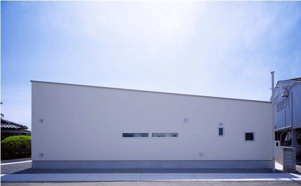 n・D~コートハウス~の部屋 白い外観