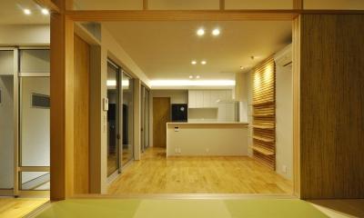 Yoshi-house (リビング)