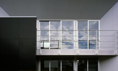10million house (外観(手塗り))