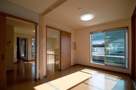 中ノ島の家の部屋 洋室