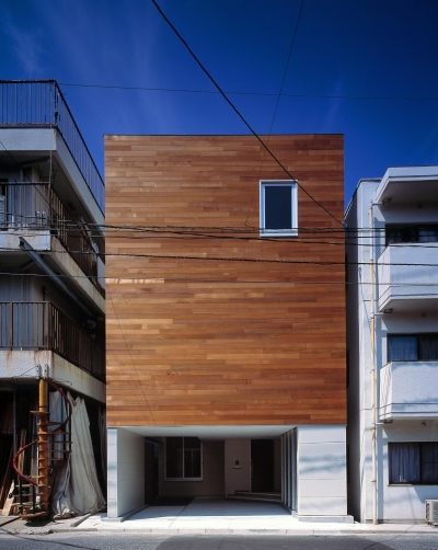 H HOUSE IN HIROSHIMA (外観)