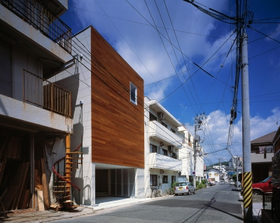 H HOUSE IN HIROSHIMA (ファサード)