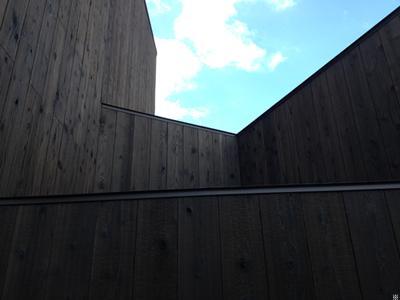 日野町のいえの部屋 外壁