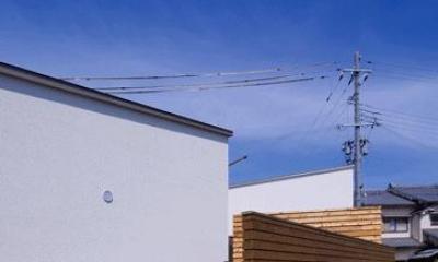 n・D~コートハウス~ (プライバシー保護の板塀)