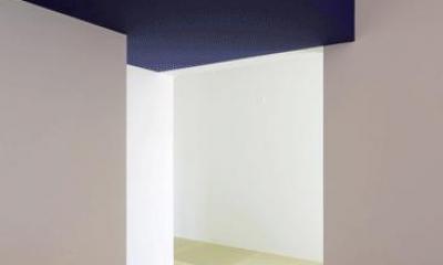 n・D~コートハウス~ (リビングから和室を見る)