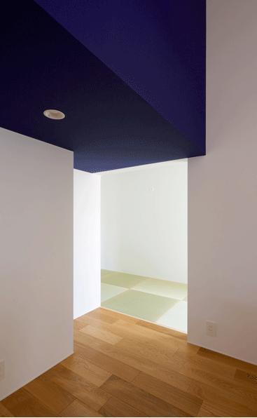 n・D~コートハウス~の部屋 リビングから和室を見る