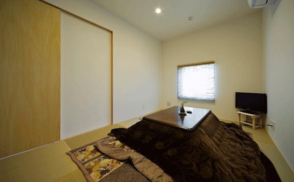 ビイム~ 外と内のつながり~の部屋 光が差し込む和室