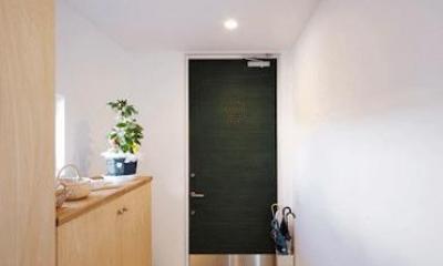 ビイム~ 外と内のつながり~ (緑の玄関ドア)