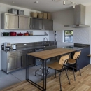 生駒の家の写真 こだわりの業務用キッチン
