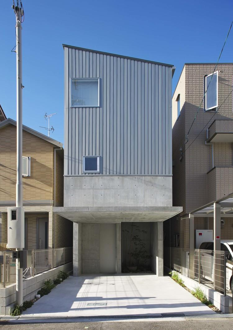 阿倍野の家 (鉄筋コンクリート造+木造の外観)