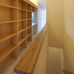 阿倍野の家 (2階廊下の収納)