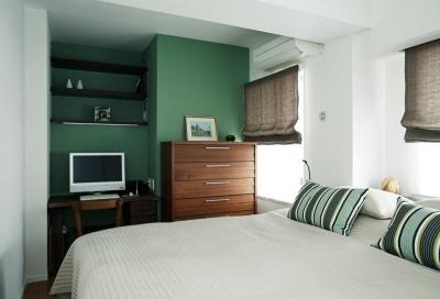 寝室 (暖炉を囲む暮らし)