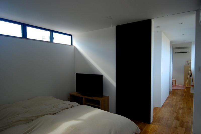 Rias House #138の部屋 明かり取り窓のあるベッドルーム