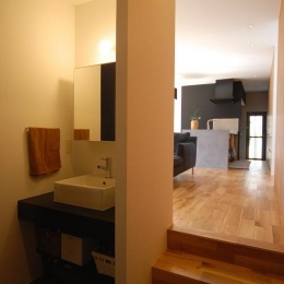 Rias House #138 (手洗いスペース・LDK)