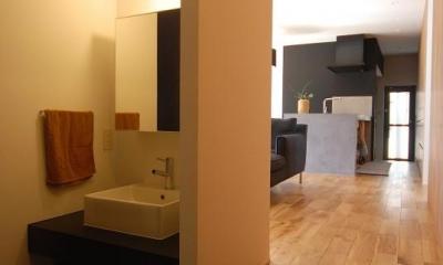 手洗いスペース・LDK|Rias House #138