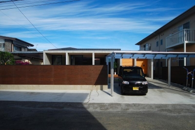 Rias House #138 (外観・カーポート)