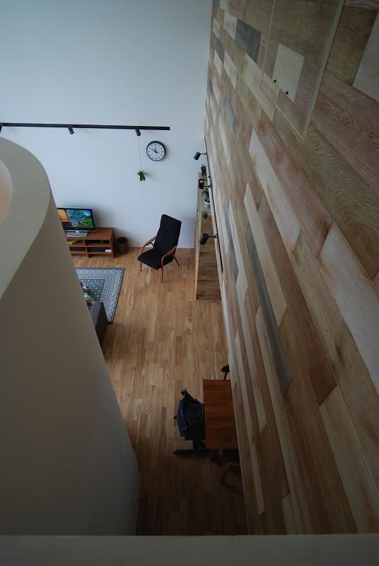 Bianco grigio #114の部屋 吹き抜けから一階を見下ろす