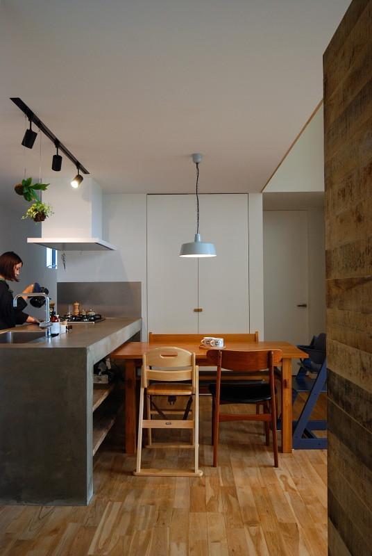Bianco grigio #114の部屋 ダイニング・キッチン