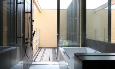 浴室|中国黄土の家