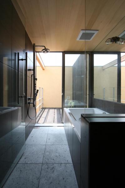浴室 (中国黄土の家)
