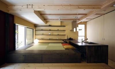2階LDK|中国黄土の家