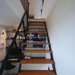 House N #128 (書斎コーナー・階段)