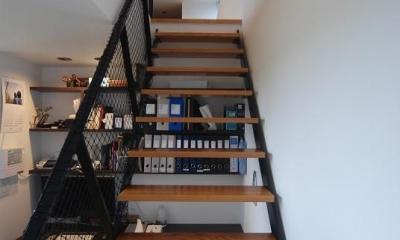 書斎コーナー・階段|House N #128