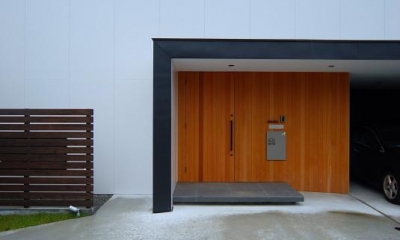 玄関ポーチ House N #128