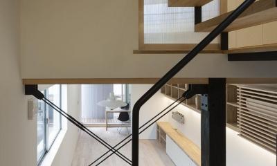 うなぎの寝床 (階段)